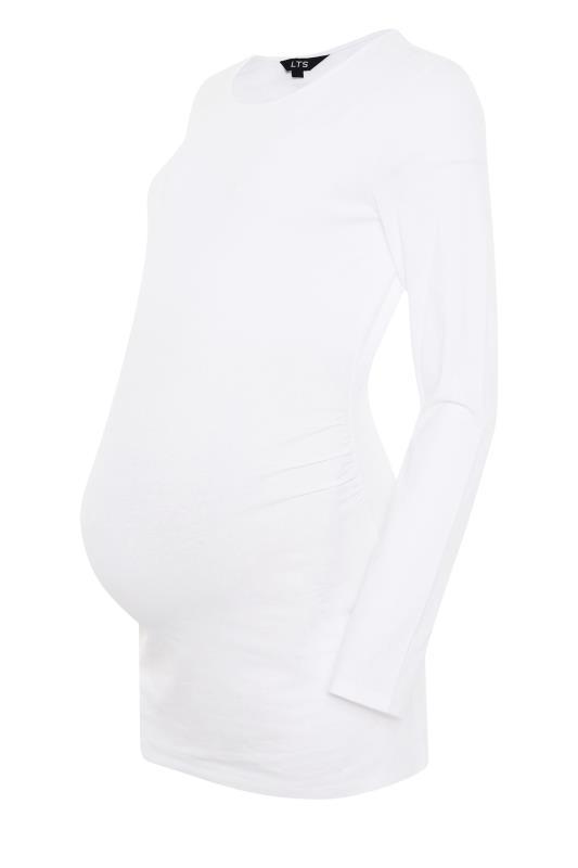 LTS 2 PACK Maternity Black & White Long Sleeve Top_F.jpg