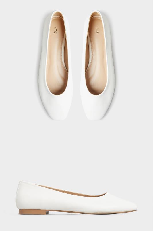LTS Off-White Almond Toe Ballerinas_split.jpg