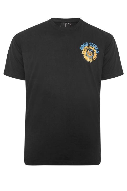 Men's  304 CLOTHING Black Good Vibes T-Shirt