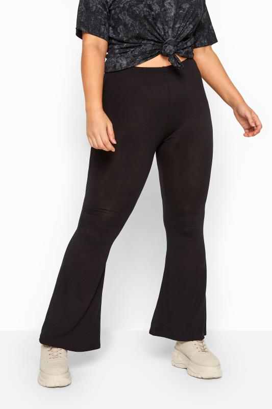 LIMITED COLLECTION Black Flare Leggings