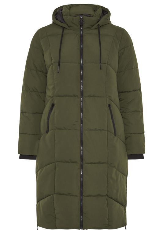 Khaki Hooded Puffer Maxi Coat_F.jpg