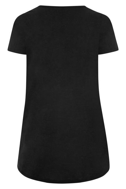 Black Button Scoop Neck Pyjama Top_BK.jpg