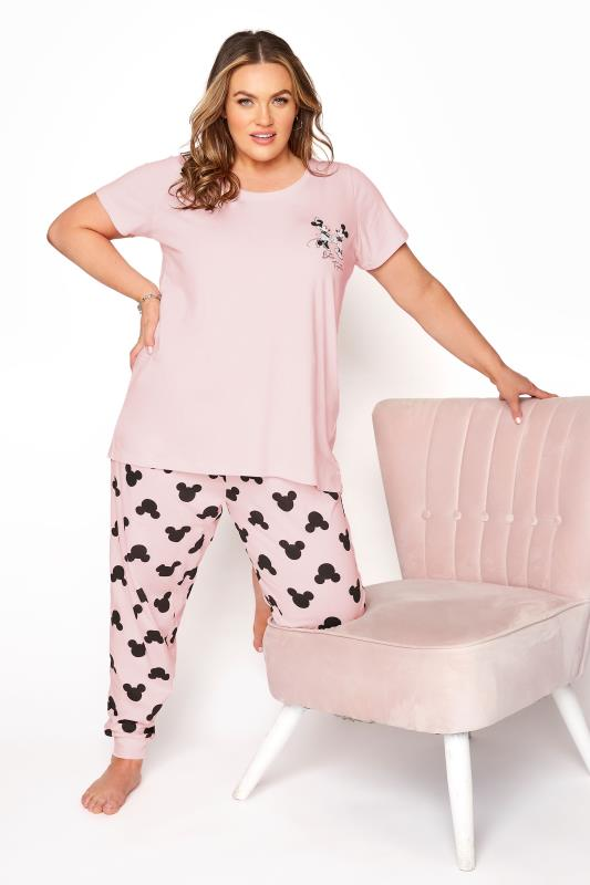 DISNEY Pink Mickey and Minnie Mouse Pyjama Set_B.jpg