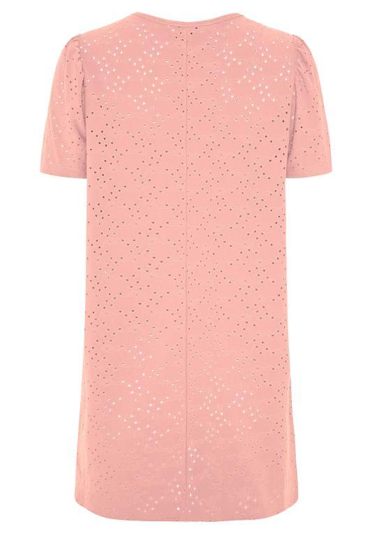 LTS Rose Pink Broidery Puff Sleeve Top_BK.jpg