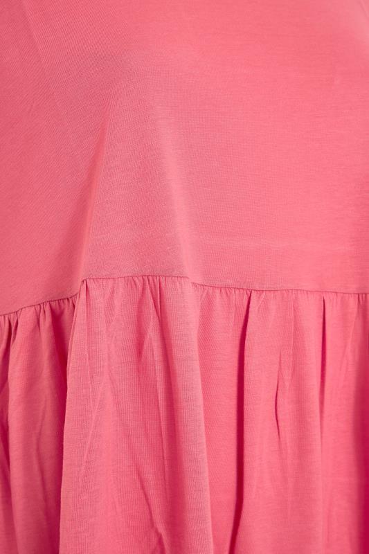 Pink Peplum Drop Shoulder Top_S.jpg