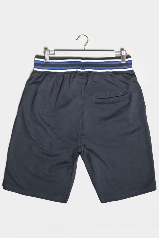 BadRhino Navy Brooklyn Jogger Shorts