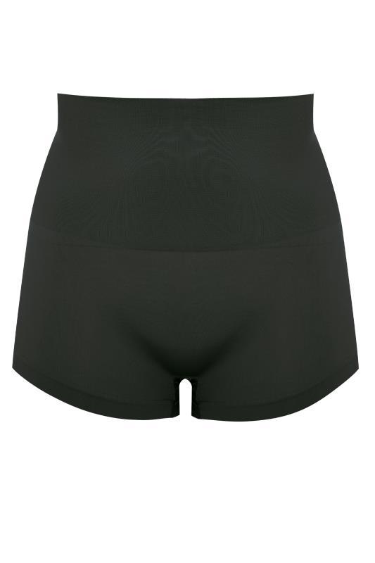 Black Seamless Control Shorts