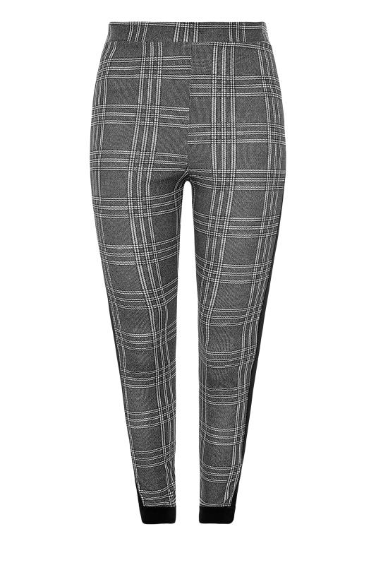 Black and White Side Stripe Scuba Trousers_F.jpg