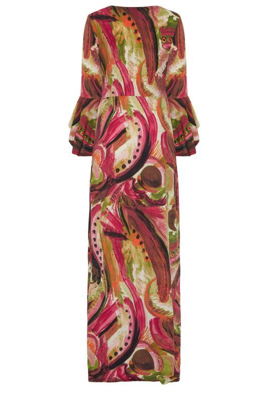 LTS Red Flute Sleeve Maxi Dress_bk.jpg