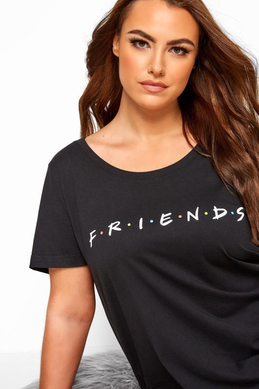 Black Friends Nightdress