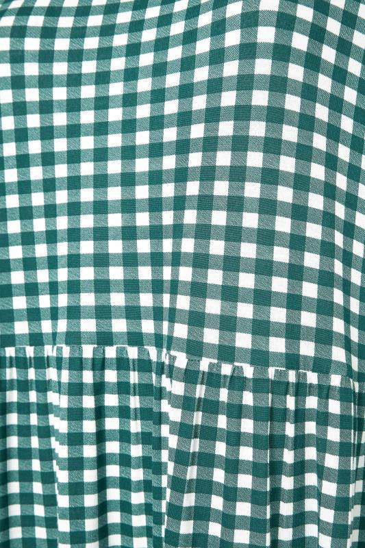 LIMITED COLLECTION Green Gingham Smock Midi Dress_S.jpg