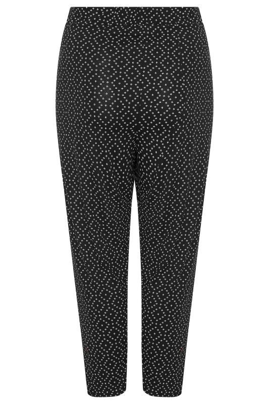Black Diamond Print Harem Trousers_BK.jpg
