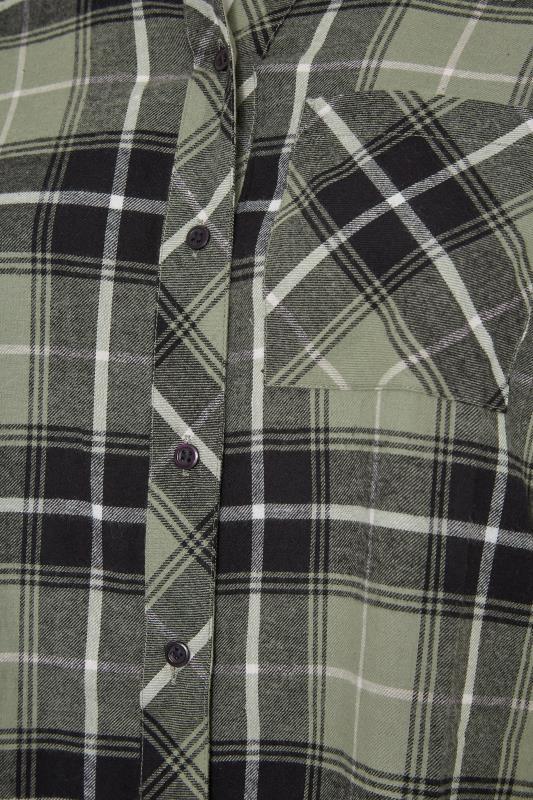 Khaki Check Raglan Boyfriend Shirt_S.jpg