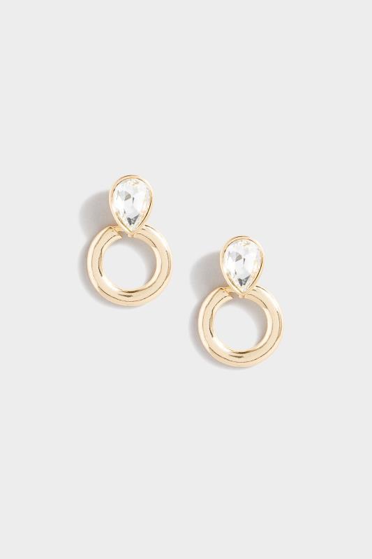Gold Oval Diamante Hoop Earrings_153785.jpg