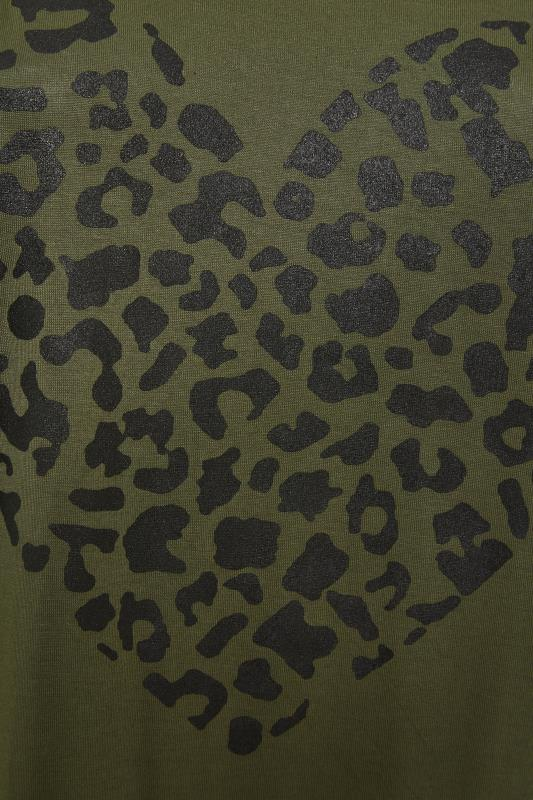 LIMITED COLLECTION Khaki Leopard Heart Top_S.jpg