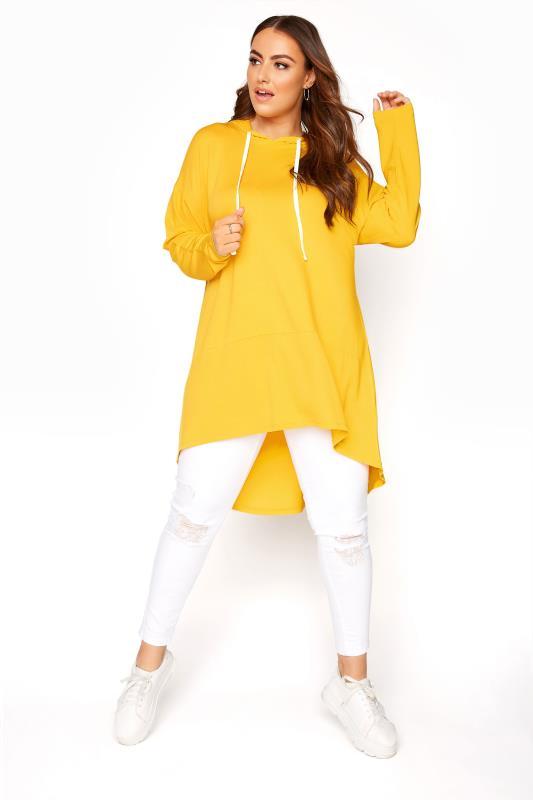 Bright Yellow Tunic Hoodie