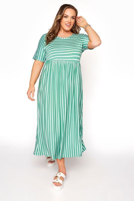 Emerald Green Stripe Dress_A.jpg