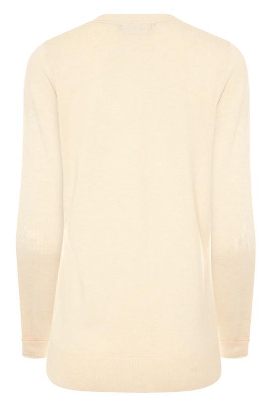 Beige Buttoned Knitted Cardigan_BK.jpg