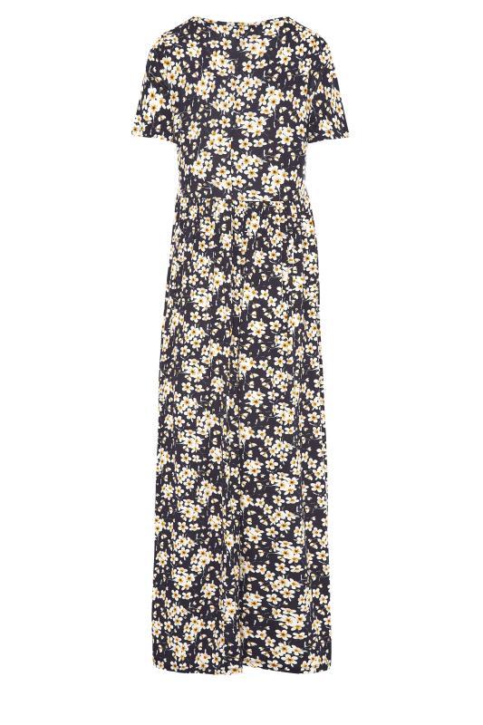 LTS Black Daisy Print Midi Dress_BK.jpg