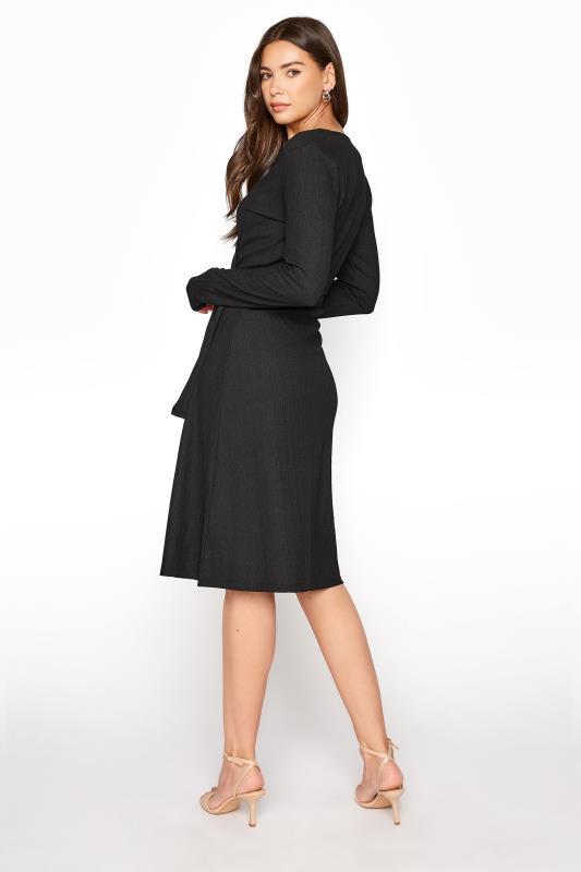 LTS Black Textured Wrap Dress_C.jpg