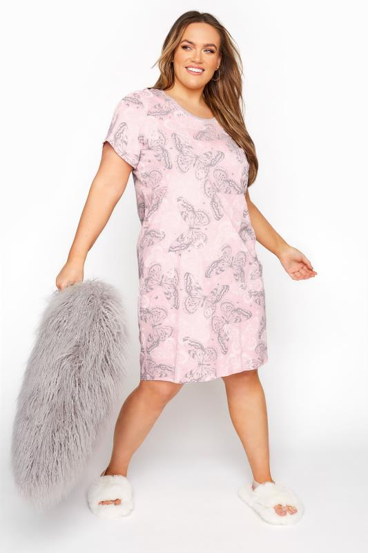 Women/'s Plus Size Mint Green Glitter /'fab-ewe-lous/' Slogan Nightdress