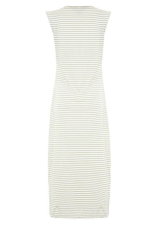 LTS Sage Green Stripe Midi Dress_BK.jpg