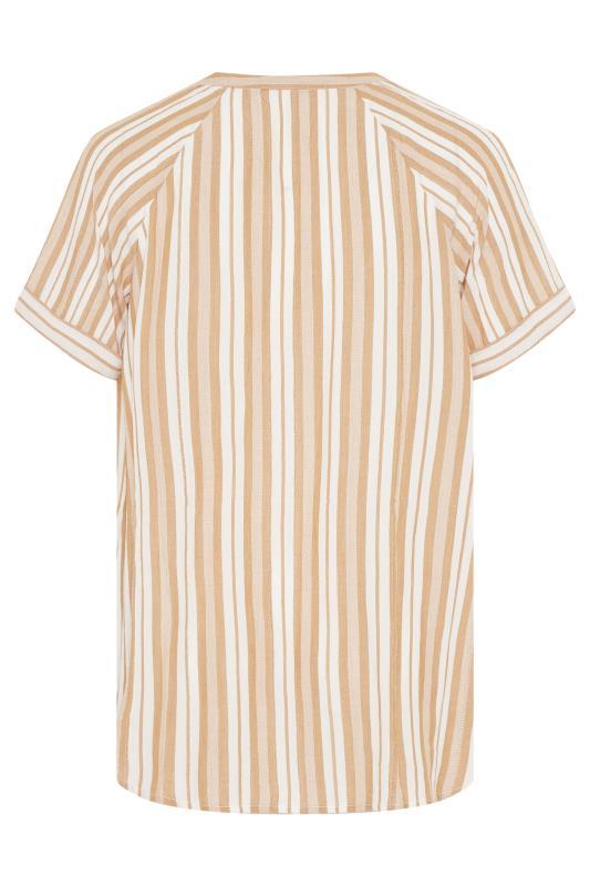 Yellow Stripe Raglan Sleeve Shirt_BK.jpg