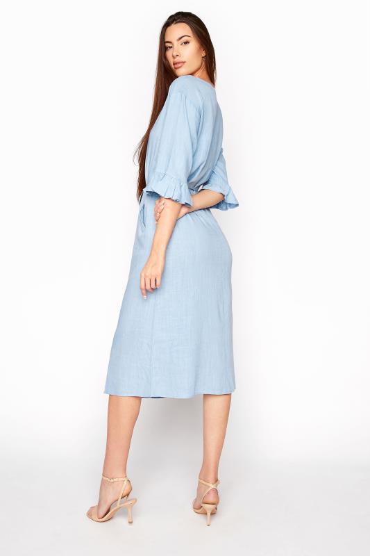 LTS Blue Frill Sleeve Midi Dress_C.jpg