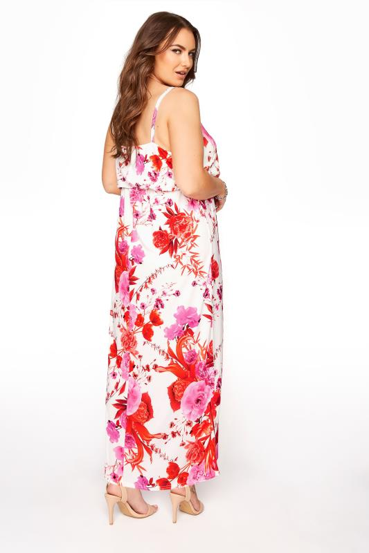 YOURS LONDON White Flame Floral Cami Maxi Dress_C.jpg
