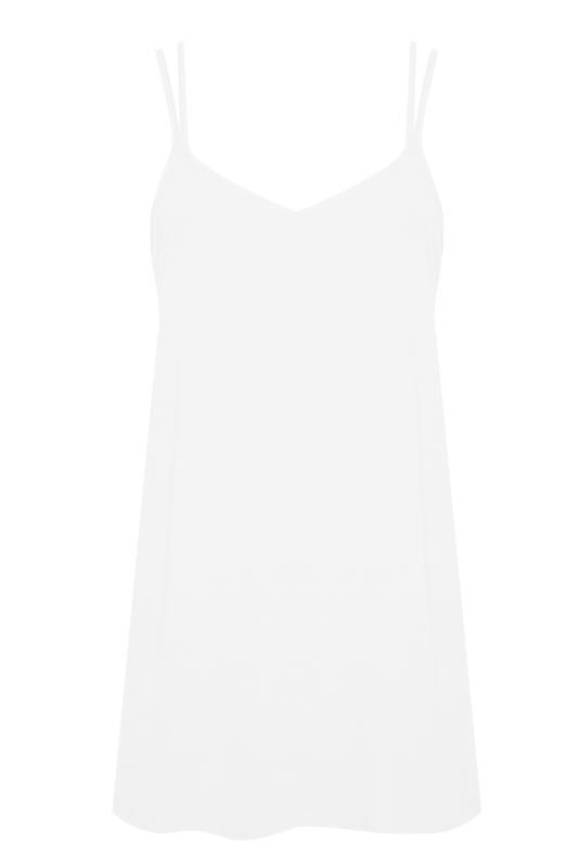 LTS White Double Strap Woven Cami_F.jpg