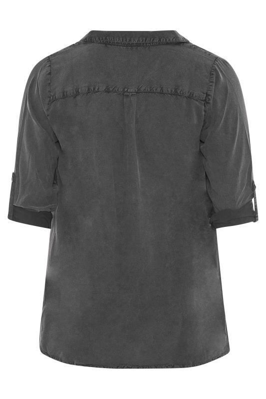 Black Acid Wash Overhead Shirt_BK.jpg