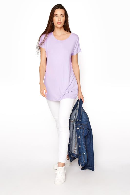 LTS Purple Soft Touch T-Shirt
