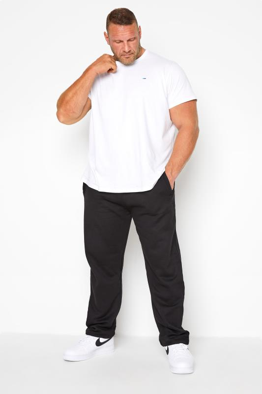 Plus Size Corsage KAM Black Basic Joggers