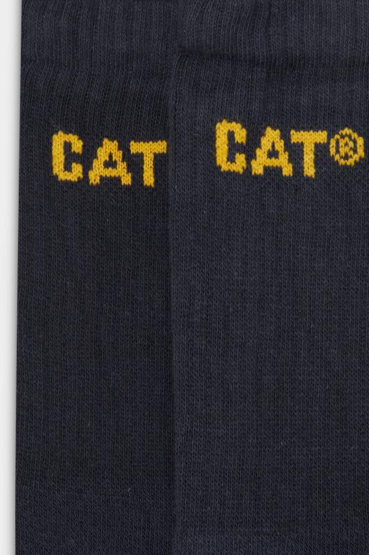 CATERPILLAR 3 PACK Navy Work Socks