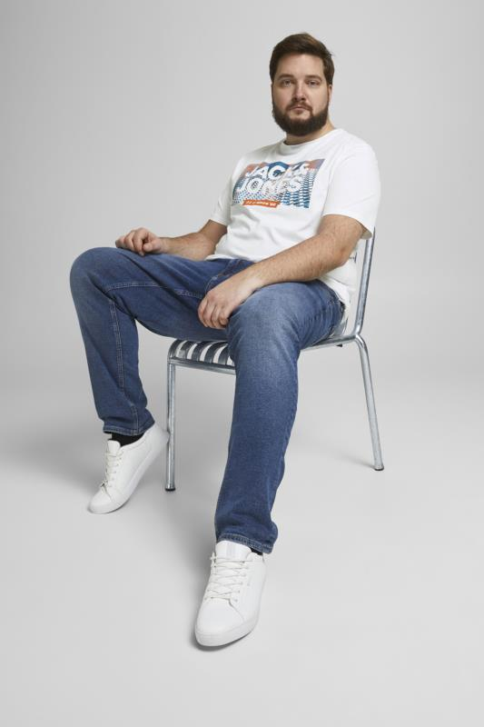 JACK & JONES White Feeling Graphic Print T-Shirt_A.jpg