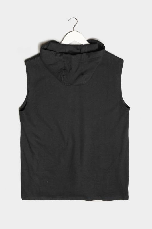 BadRhino Black Essential Sleeveless Hoodie_BK.jpg
