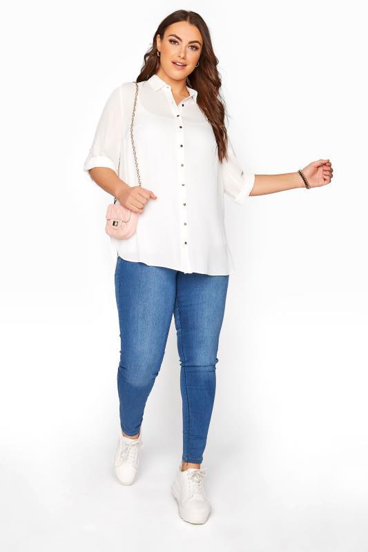 White Oversized Chiffon Shirt_B.jpg