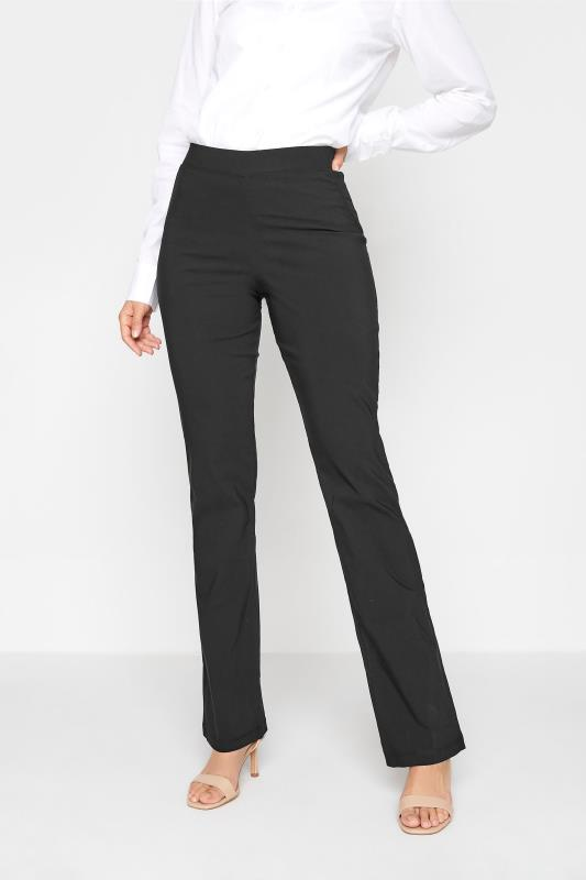 LTS Black Stretch Bootcut Trousers_B.jpg
