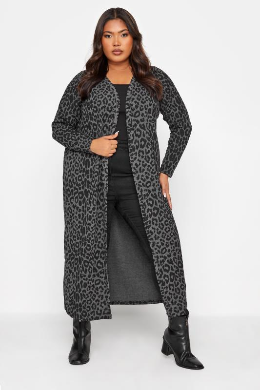 LIMITED COLLECTION Charcoal Black Leopard Print Cardigan_38.jpg