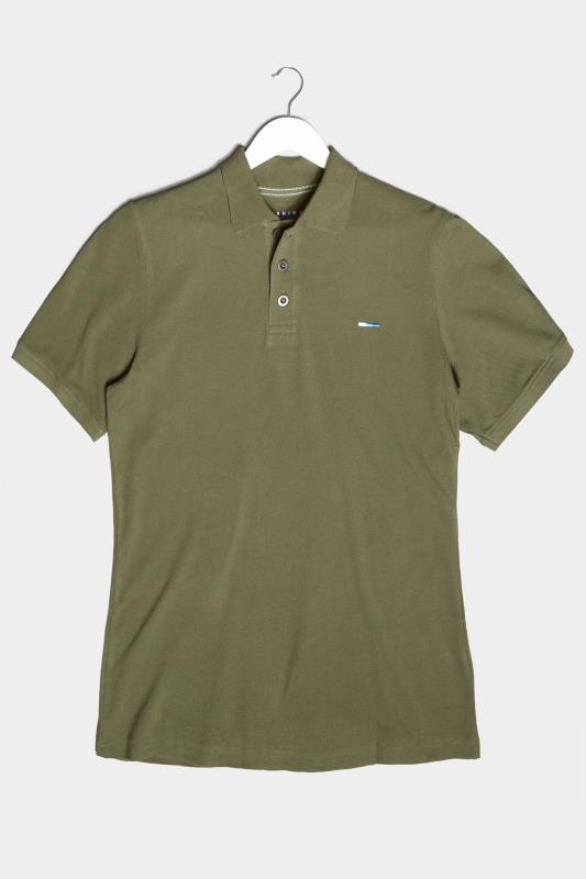 BadRhino Khaki Essential Polo Shirt