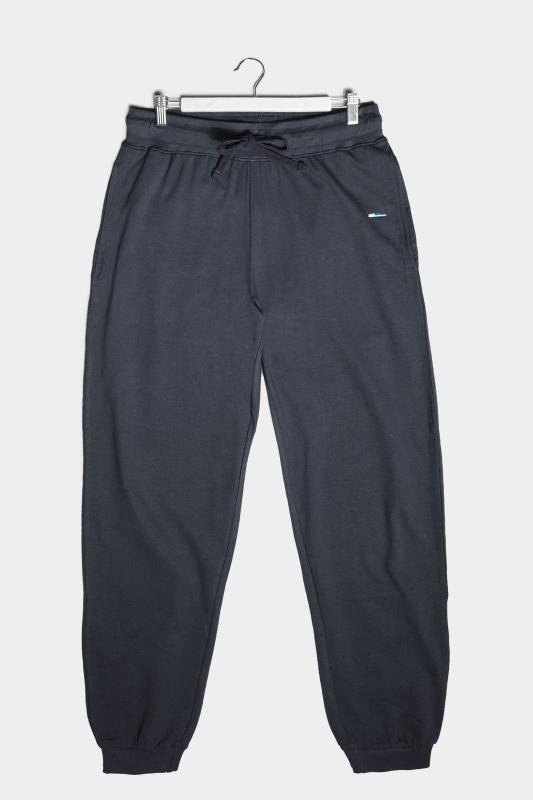 Plus Size  BadRhino Navy Basic Joggers