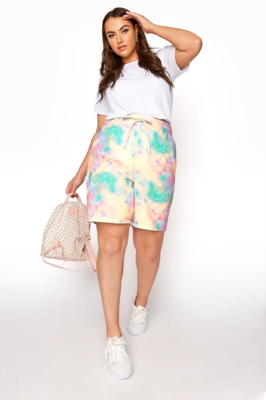 Multi Tie Dye Sweat Shorts_B.jpg