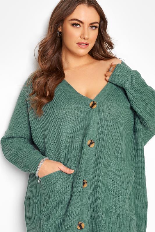 Green Button Knitted Cardigan_D.jpg