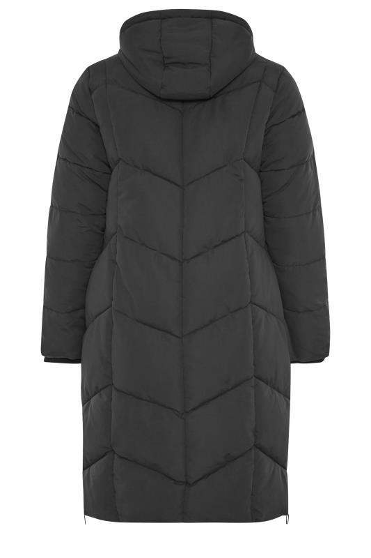 Black Hooded Puffer Maxi Coat_BK.jpg