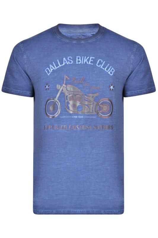 KAM Blue 'Dallas Bike Club' T-Shirt