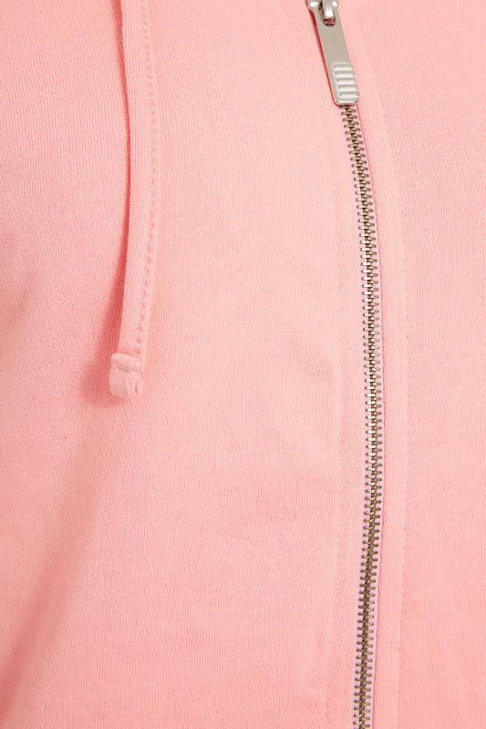 LTS Coral Pink Zip Through Hoodie_S.jpg