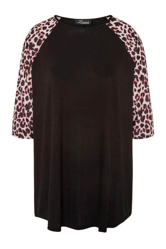 LIMITED COLLECTION Black Leopard Print Top_F.jpg