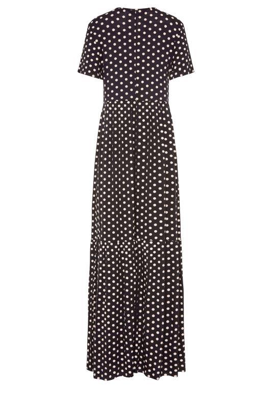 LTS Black Spot Tiered Maxi Dress_bk.jpg