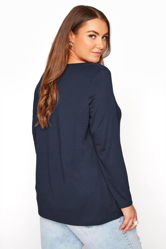 Navy Scoop Neck Long Sleeve T-Shirt_C.jpg