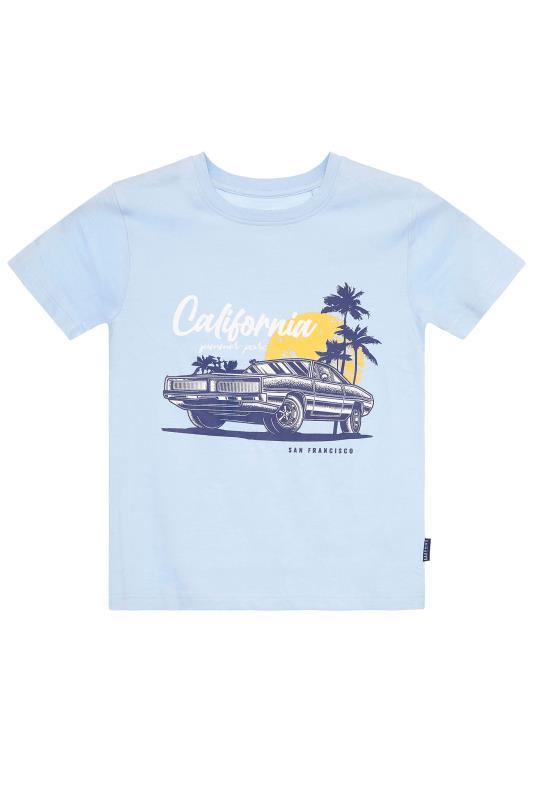 Men's  BadRhino Boys Blue Matching California T-Shirt